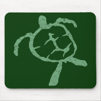 turtle-green mouse mat