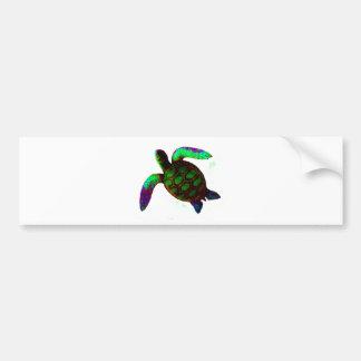 Turtle Green The MUSEUM Zazzle Gifts Bumper Sticker