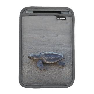 Turtle hatchlings iPad mini sleeve
