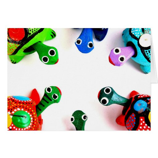 Turtle Heads! Greeting Cards