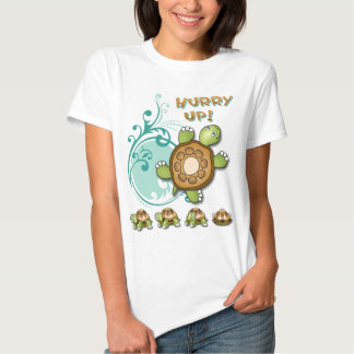 TURTLE Hurry Up Tees
