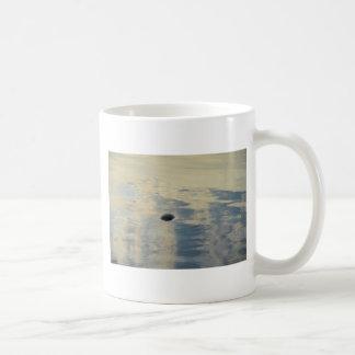 Turtle In Calm Sea Coffee Mug