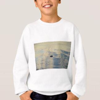 Turtle In Calm Sea Sweatshirt