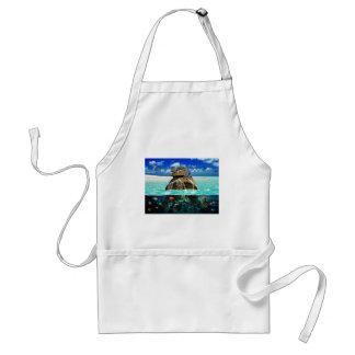 Turtle Island Fantasy Secluded Resort Standard Apron
