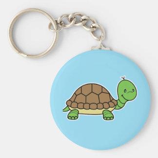 Turtle keychain blue