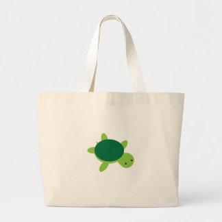 Turtle Large Tote Bag