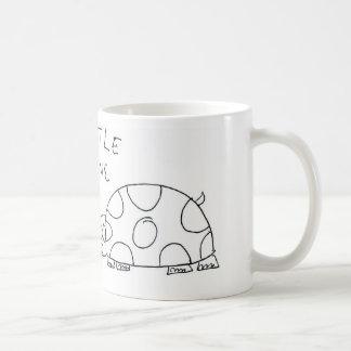 Turtle Love Basic White Mug