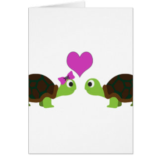 Turtle Love Note Card