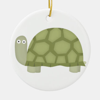 Turtle love christmas ornament