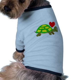 Turtle Love Dog Shirt