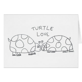 Turtle Love Greeting Card