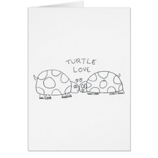 Turtle Love Greeting Card