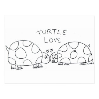 Turtle Love Post Cards