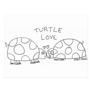 Turtle Love Postcard