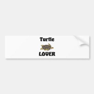 Turtle Lover Bumper Sticker
