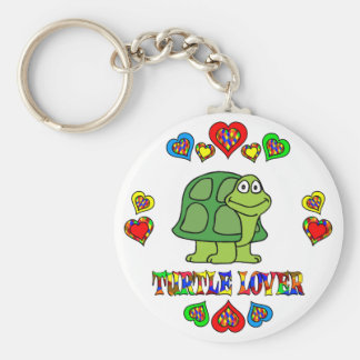 Turtle Lover Key Ring