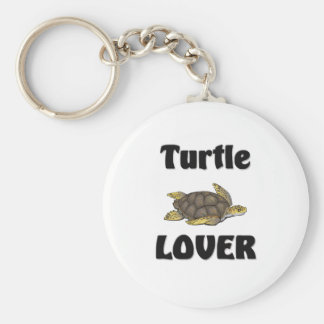 Turtle Lover Key Ring