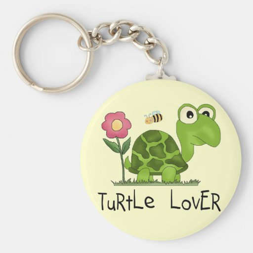 Turtle Lover Tshirts and Gifts Keychains
