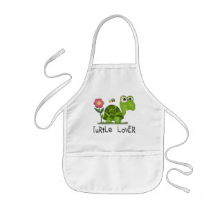 Turtle Lover Tshirts and Gifts Kids Apron