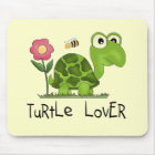 Turtle Lover Tshirts and Gifts Mouse Mat