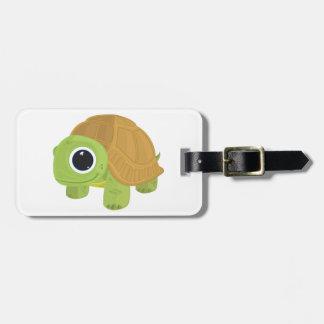 Turtle Luggage Tag