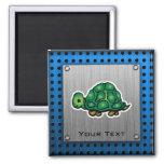 Turtle; Metal-look