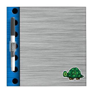Turtle; Metal-look Dry Erase Whiteboard