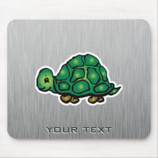 Turtle Metal-look Mouse Pads