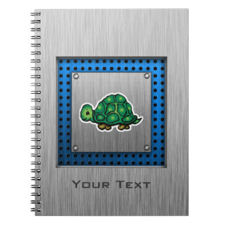 Turtle Metal-look Note Book