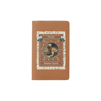 Turtle  -Mother Earth- Notebook Moleskin Cover