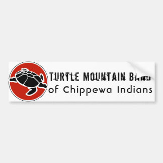 Turtle Mountain Band of Chippewa Indians Bumper Sticker