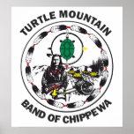 Turtle Mountain Band of Chippewa Poster