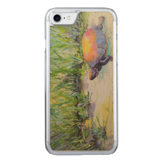 Turtle on the Beach Carved iPhone 8/7 Case