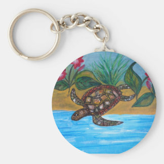 Turtle or tortoise accessories key ring