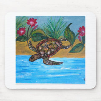 Turtle or tortoise accessories mouse pad
