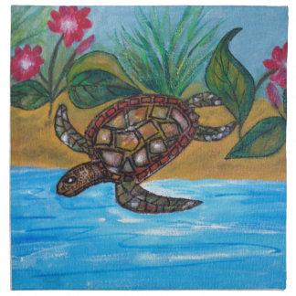 Turtle or tortoise accessories napkin