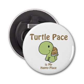 Turtle Pace - Happy Place Bottle Opener