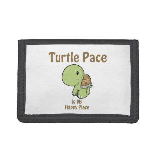 Turtle Pace - Happy Place Tri-fold Wallet