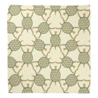 Turtle pattern bandana