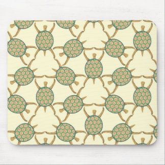 Turtle pattern mouse mat