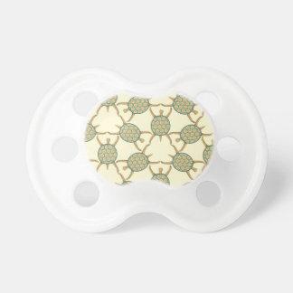Turtle pattern pacifier