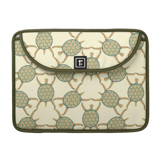 Turtle pattern sleeves for MacBook pro