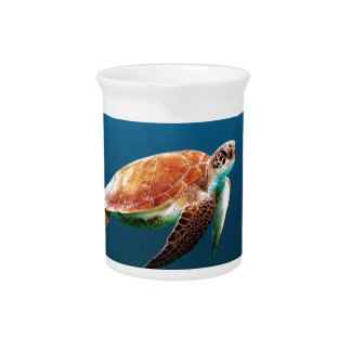 Turtle Pitcher