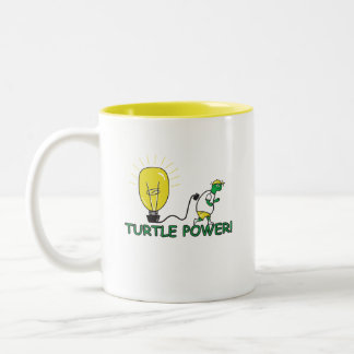 Turtle Power Coffee Mugs