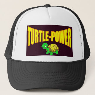 Turtle Power Trucker Hat