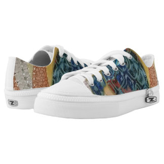Turtle Printed Shoes