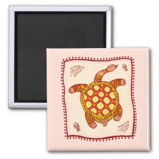 Turtle Quilt Magnet