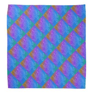 Turtle Rainbow Pattern Kerchief