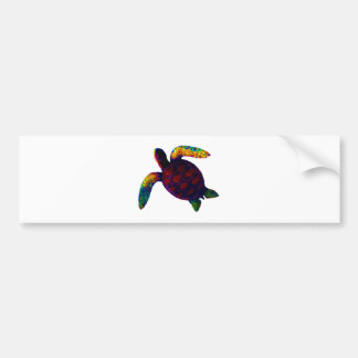 Turtle Red The MUSEUM Zazzle Gifts Bumper Sticker