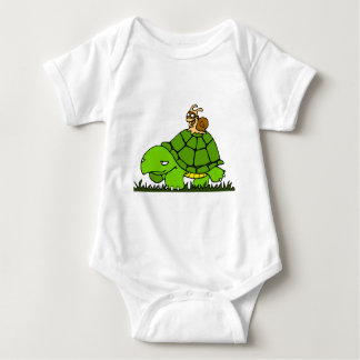Turtle ride baby bodysuit
